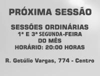 Banner Próxima Sessão