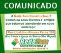 Comunicado de alteração de endereço Rede Tem Construchoa 2