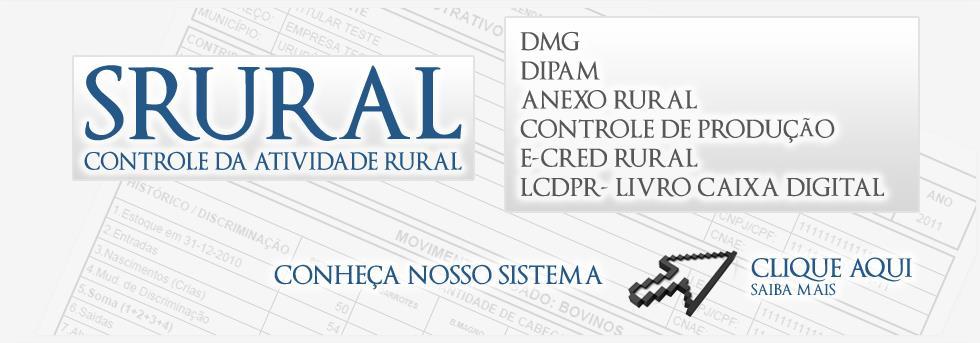SRural - Conheça o Sistema